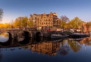 Papiermolensluis in Amsterdam van Bart Achterhof