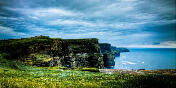 Cliffs of Moher overview, The Burren, Ireland