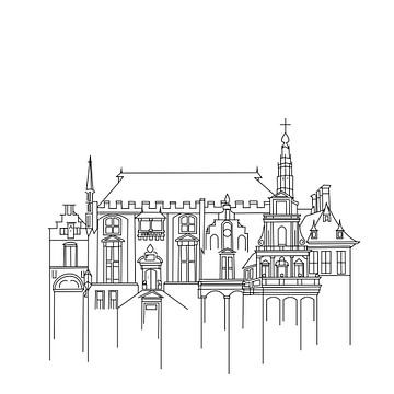 Stadhuis van Haarlem van Fela de Wit