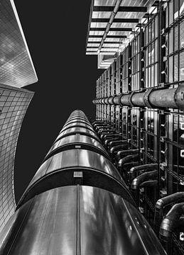 Lloyd's Building, Londres, Angleterre sur Adelheid Smitt