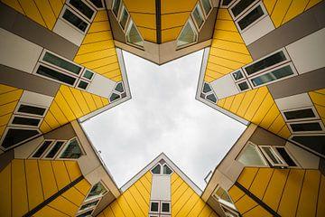 Kubus huizen, Rotterdam van Lorena Cirstea