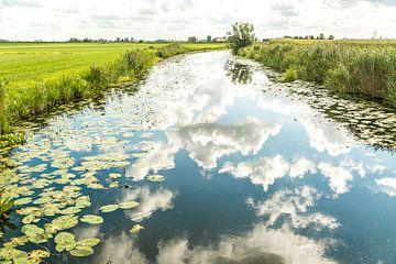 Wolkenspiegel van Willy Sybesma