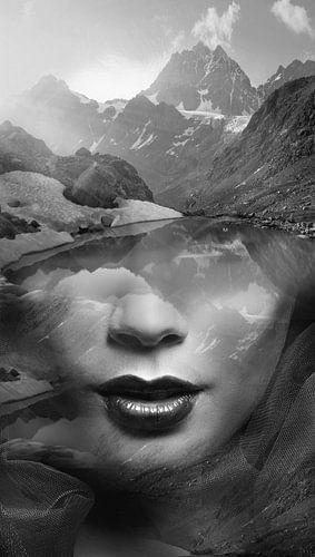 Mountain lady van Dreamy Faces