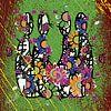 kleurrijke abstracte kunst van menselijke relaties van EL QOCH thumbnail