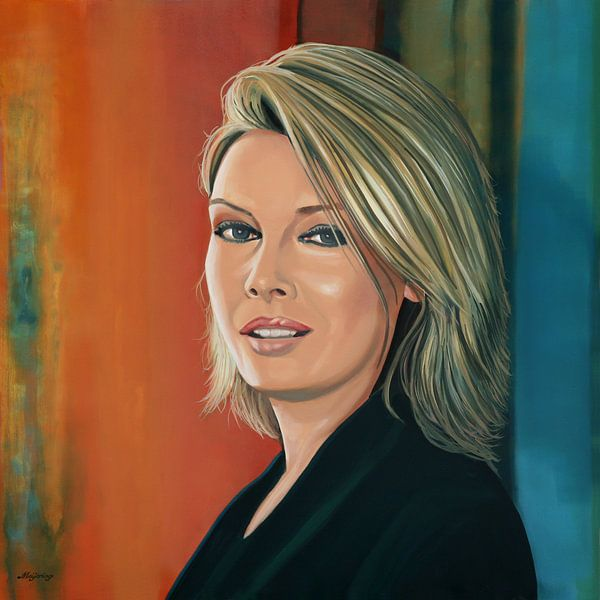 Kim Wilde Schilderij van Paul Meijering