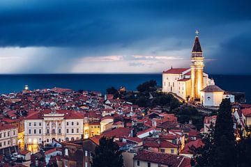 Piran (Slovenië) van Alexander Voss