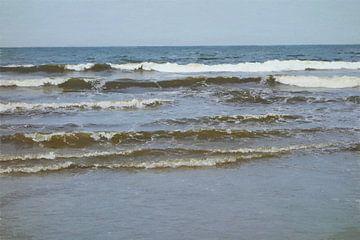 Lagen Golven van de Noordzee - I - Schilderij