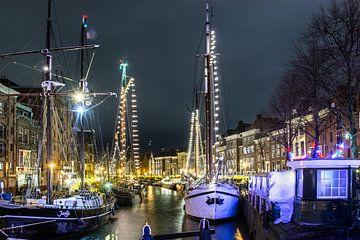 Canal Groningen sur Pia Van Hemmen