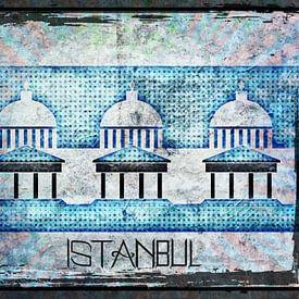 Koepels in Istanbul von Nicky`s Prints