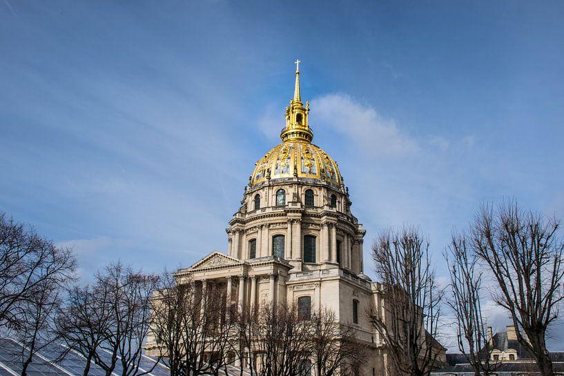 Parijs, de gouden koepel van Hotel des Invalides van Patrick Verhoef