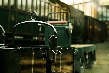 nostalgisch treinstation van Bert-Jan de Wagenaar
