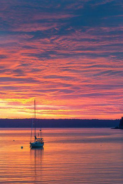 Zonsopkomst Bar Harbor, Acadia N.P, Maine. van Henk Meijer Photography