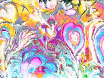Bloemenzee V van Maurice Dawson