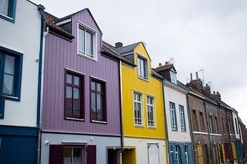 Straatje van Amiens van Bibian Been