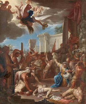 Het martelaarschap van de zeven broers, de zonen van de heilige Felicitas, Francesco Trevisani