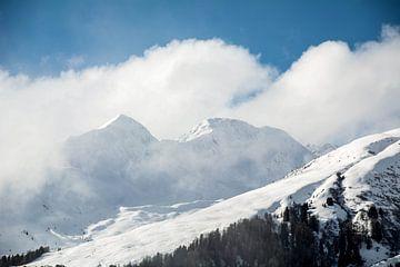 Sneeuw in de bergen, Davos von Erik Snoey