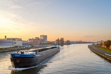 Albert Kanal Sonnenuntergang von Johan Vanbockryck