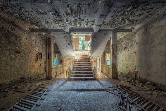 Verlaten plaats - trap