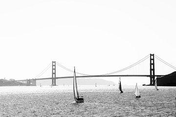 Uitzicht op de Golden Gate Bridge 1