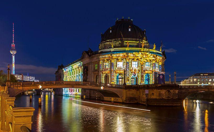 Bodemuseum et tour de télévision de Berlin sur Frank Herrmann
