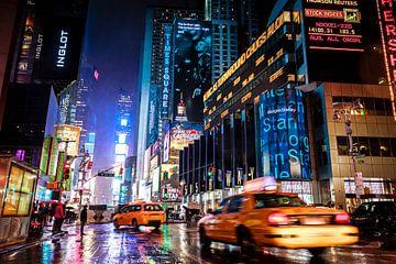 Times Square bij nacht - New York City