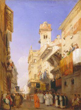 Corso Sant'Anastasia, Verona, Richard Parkes Bonington.