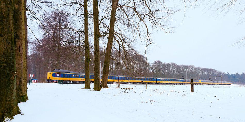 De trein in het Nederlandse landschap: De Steeg van John Verbruggen