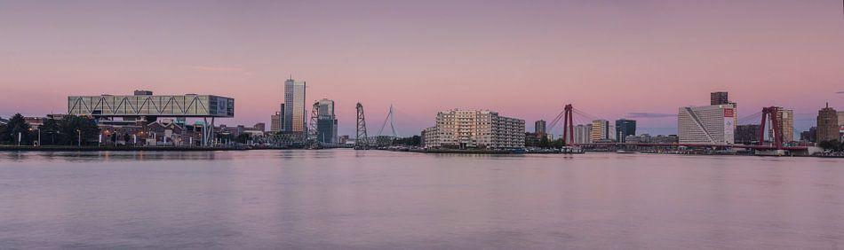 Rotterdam panorama van Ilya Korzelius