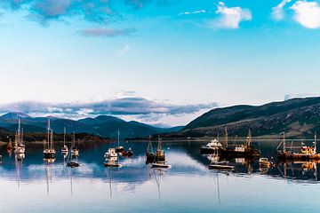 De haven Ullapool | Schotland van Teuntje Fleur