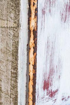 Rot, weiß, Rost von Fotoblok