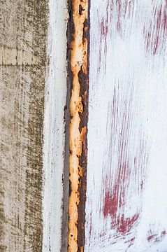 Rood, wit, roest van Fotoblok
