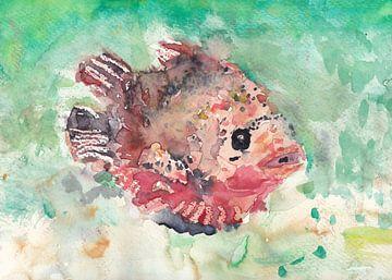 Tropische vis van Catharina Mastenbroek