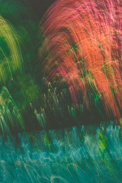 Rot Grün in matt von Jan Peter Jansen
