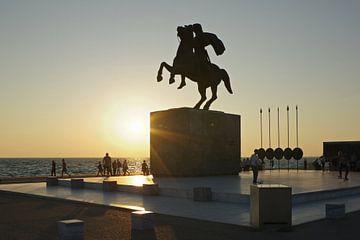 Alexanderdenkmal in Thessaloniki von Berthold Werner