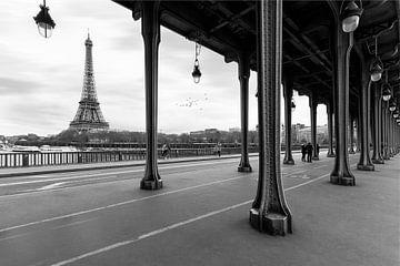 Eiffelturm Paris Pont Bir Hakeim von Ruud van der Aalst