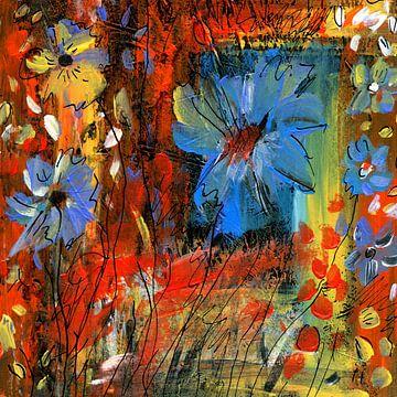 Kokette Blumen 1 von Claudia Gründler