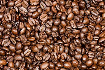 Koffiebonen gebrand