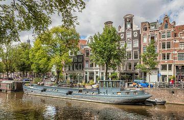 Woonboot in de Amsterdamse Grachten