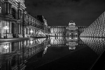 Louvre Parijs van Stad in beeld