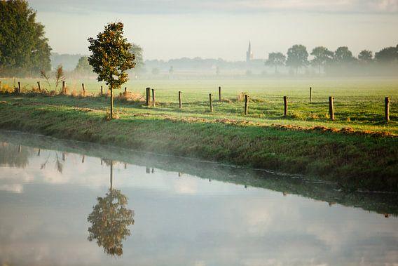 Hollands stilleven aan de waterkant