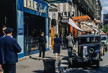 Paris Straße 50er Jahre von Jaap Ros