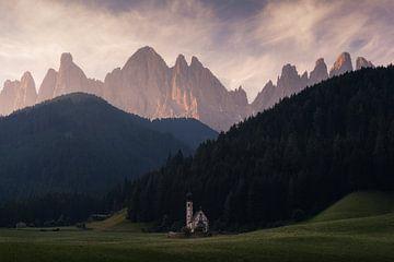 Dolomiten-Kirche San Giovanni von Vincent Fennis