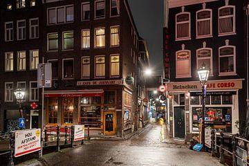Avondklok in Amsterdam - De Wallen van Renzo Gerritsen