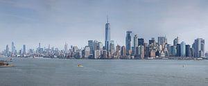 New York  manhattan Skyline Panorama van Fikri calkin