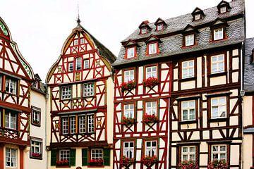 Fachwerkhäuser in Bernkastel-Kues sur Gisela Scheffbuch