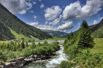 Idylisch Tirol von Martin Van der Pluym