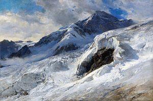 Lyskamm (Monte-Rosa), EDWARD THEODORE COMPTON, 1902