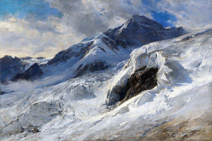 Lyskamm (Monte-Rosa), EDWARD THEODORE COMPTON, 1902 von Atelier Liesjes