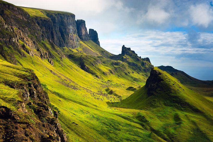 Quiraing, Insel Skye, Schottland von Henk Meijer Photography