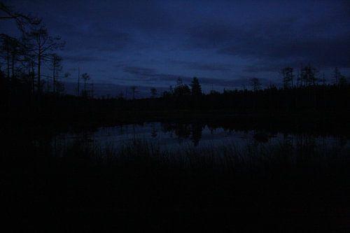 Finland by night